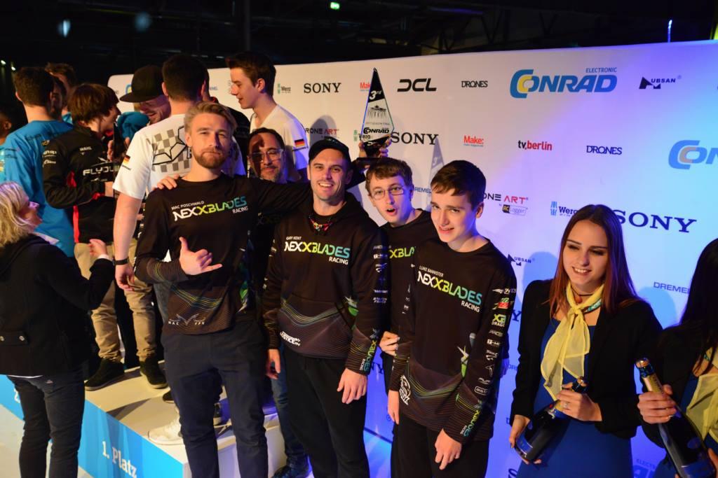Team NEXXBlades Racing na podium po zawodach w Berlinie