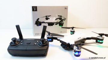YH-19 HW - dron a'la Spark z TomTop.com - recenzja