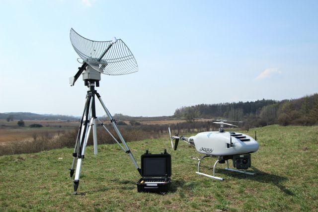 Aquila - bezzałogowy śmigłowiec firmy UAVS Poland Sp. z o.o.