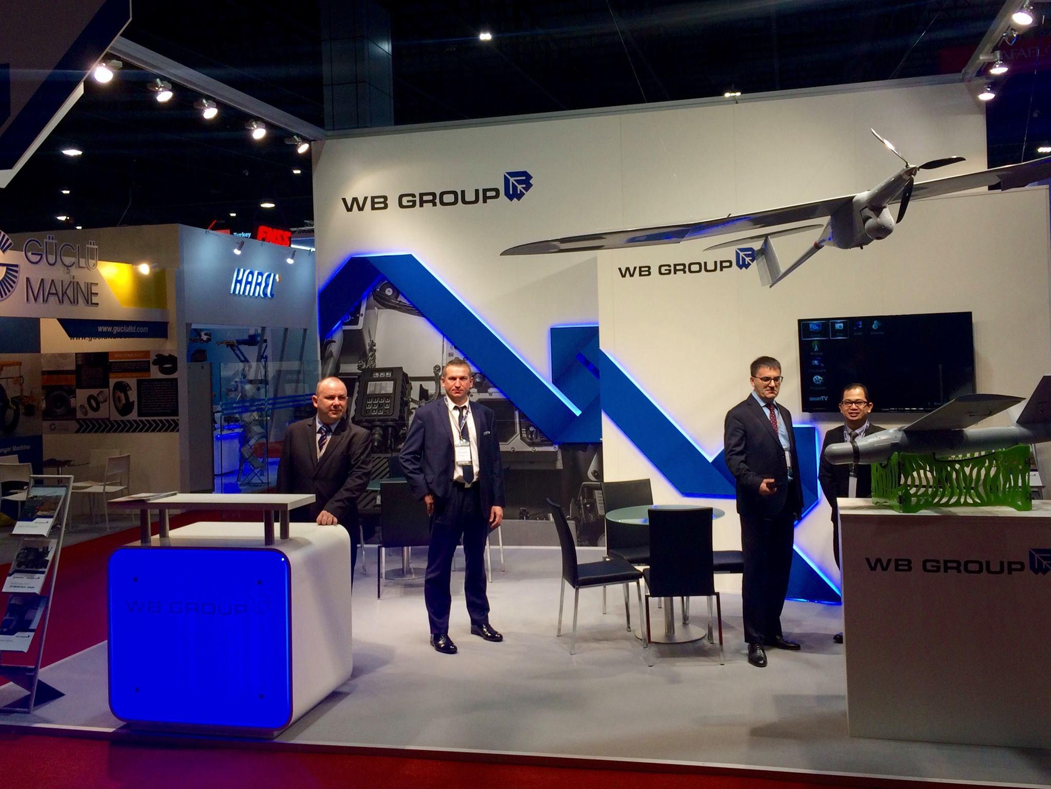 Stoisko WB Group na UMEX 2018 w Abu Dhabi