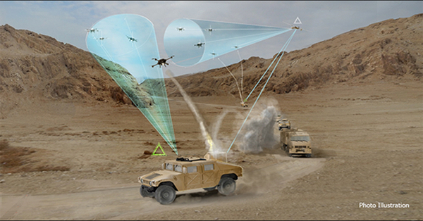 Raytheon anti-drone system