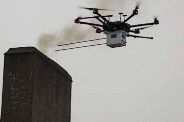 Dron antysmogowy