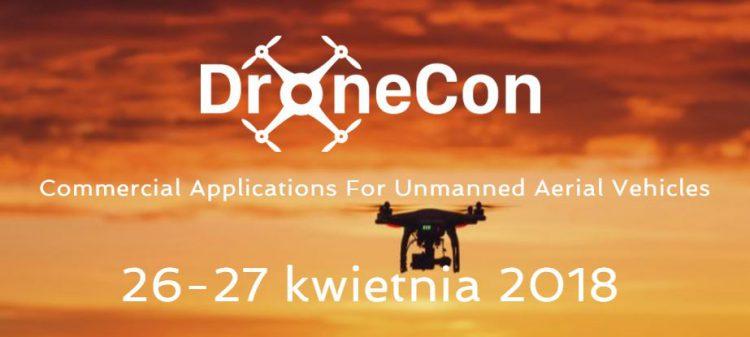 DroneCon 2018 - Warszawa, 26-27 kwietnia 2018