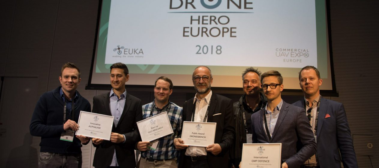 Drone Hero Europe Winners 2018