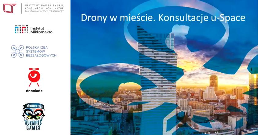 Drony w mieście. Konsultacje U-Space. - 04.04.2018 - Kraków