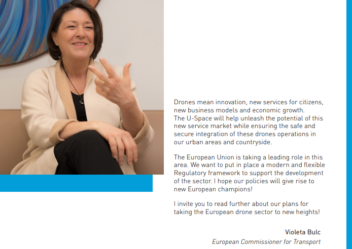 Violeta Bulc - Europejski Komisarz ds. Transportu