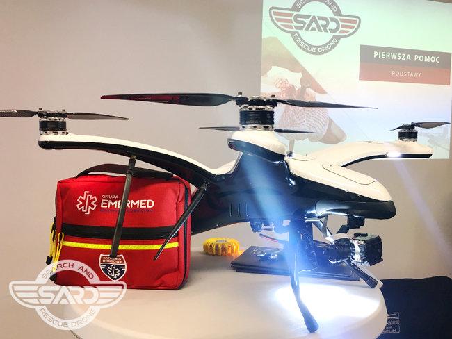 Szkolenia dla operatorów SARD - Search And Rescue Drone
