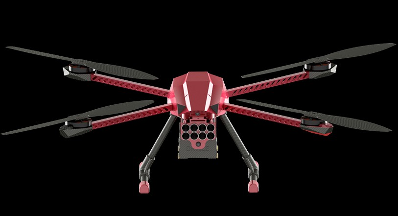 Fire Fighter Drone Spartaqs