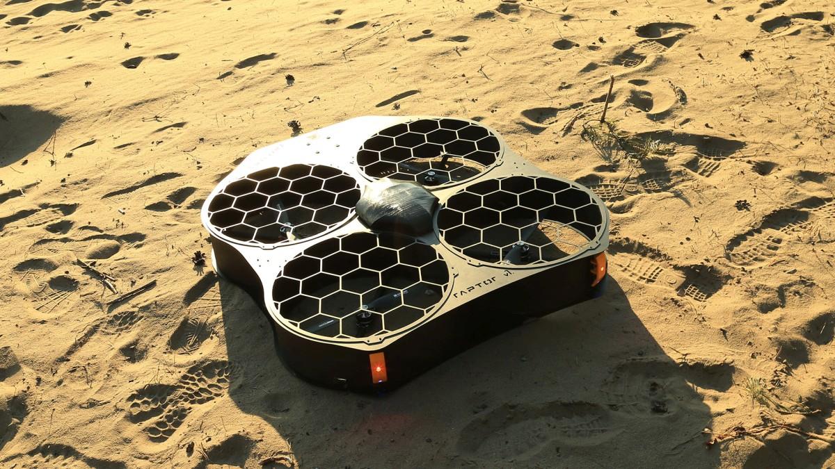 Raptor - dron Spartaqs dedykowany do U-Space