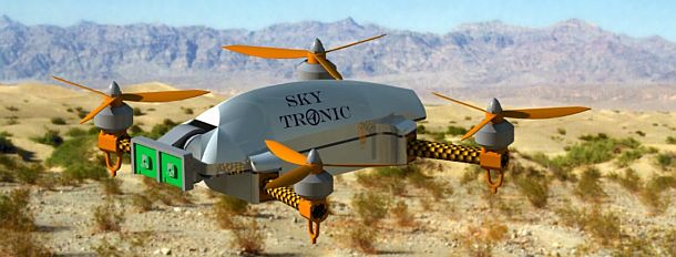 Sky Tronic - dron do modelowania 3D