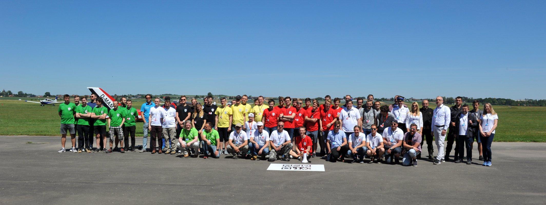 Droniada 2018 - Uczestnicy i organizatorzy