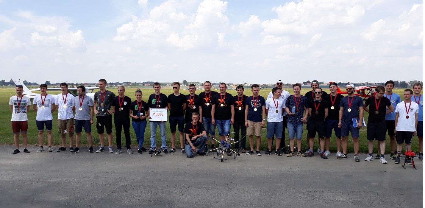 Droniada 2018 - zwycięzcy i pozostałe zespoły