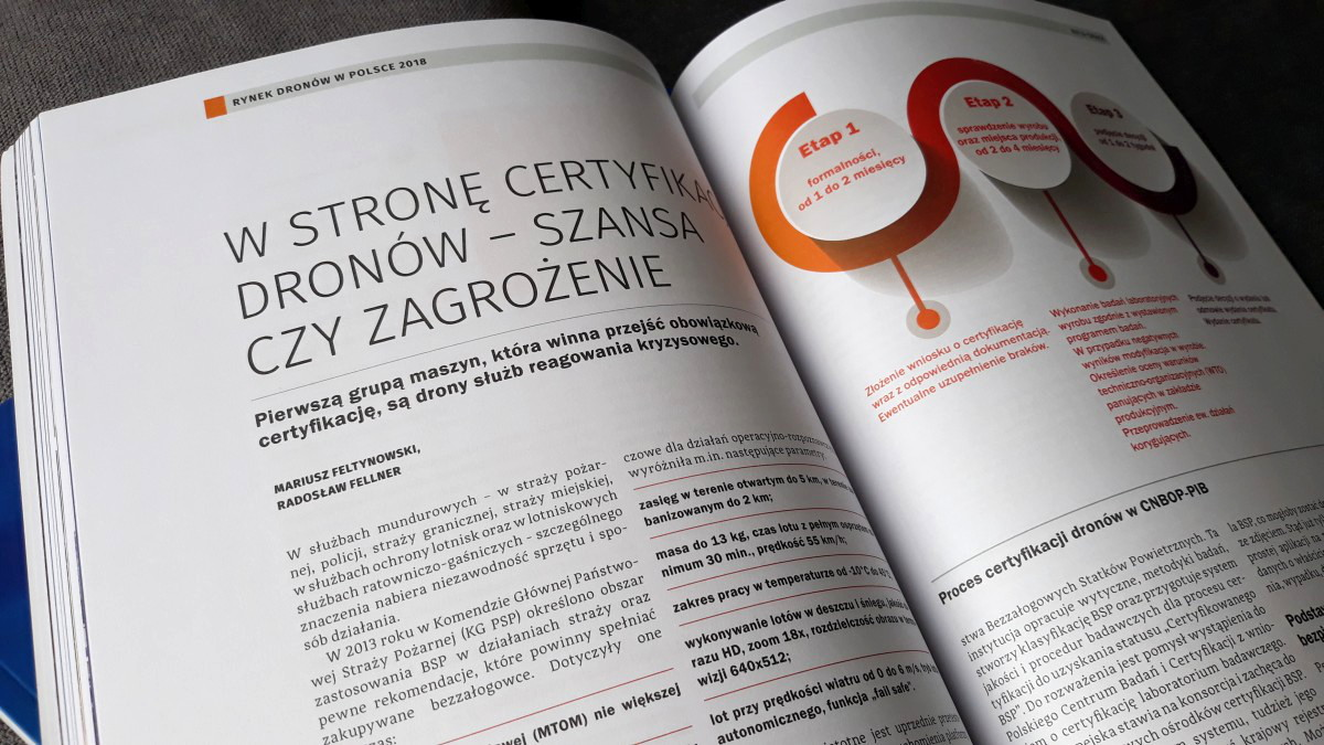Rynek dronów w Polsce. Jutrzenka. Edycja 2018