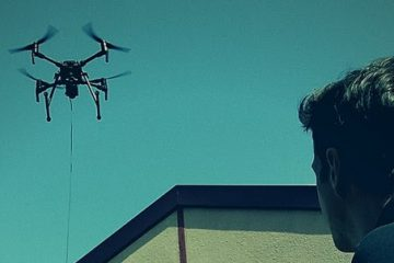 System dronów na uwięzi - Safe-T Elistair