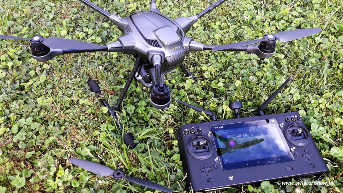 Yuneec Typhoon H Plus - recenzja swiatdronow.pl
