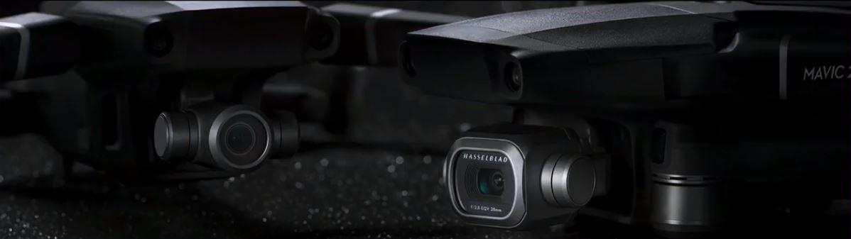 Kamery dronów DJI Mavic 2 Pro i DJI Mavic 2 Zoom