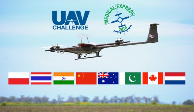 UAV Challenge Medical Express 2018