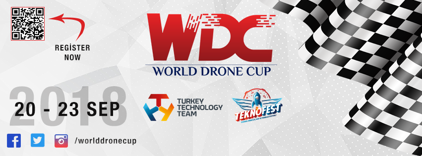 World Drone Cup 2018 - Instabul New Airport