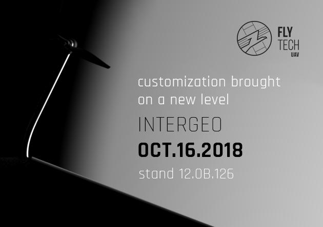 FlyTech UAV na targach InterGeo 2018