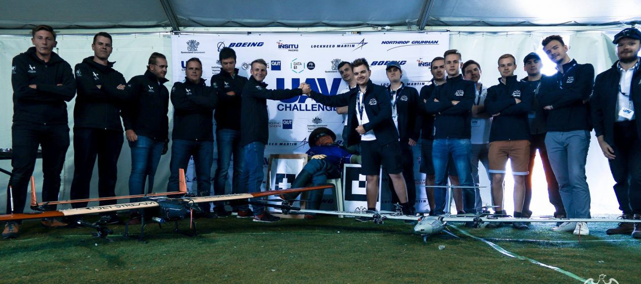 High Flyers i JetStream na UAV Challenge 2018