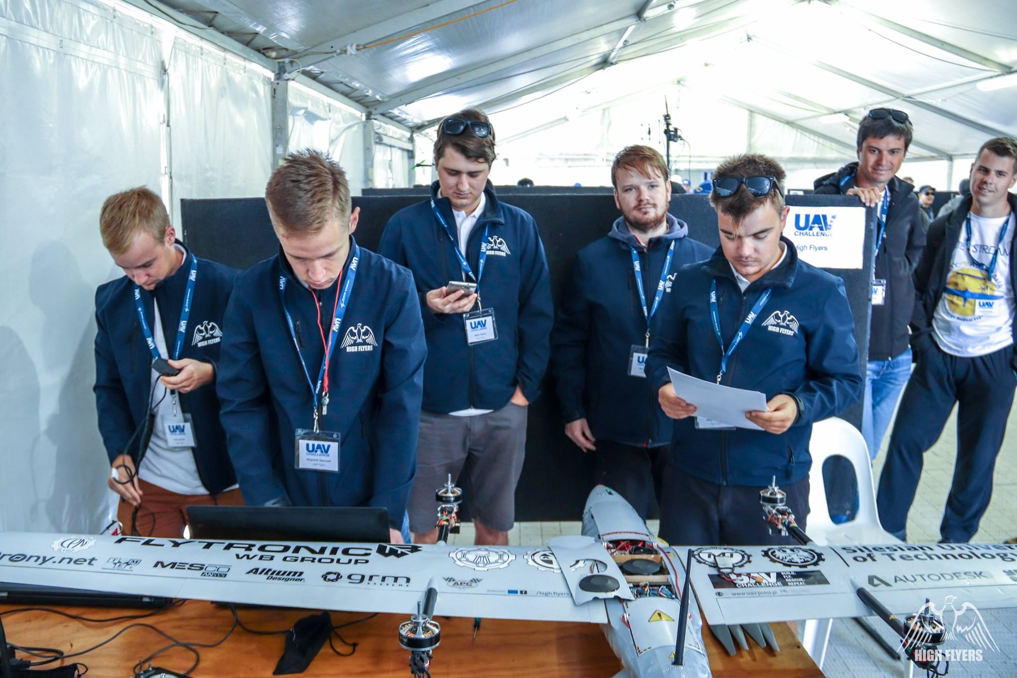 High Flyers na UAV Challenge 2018