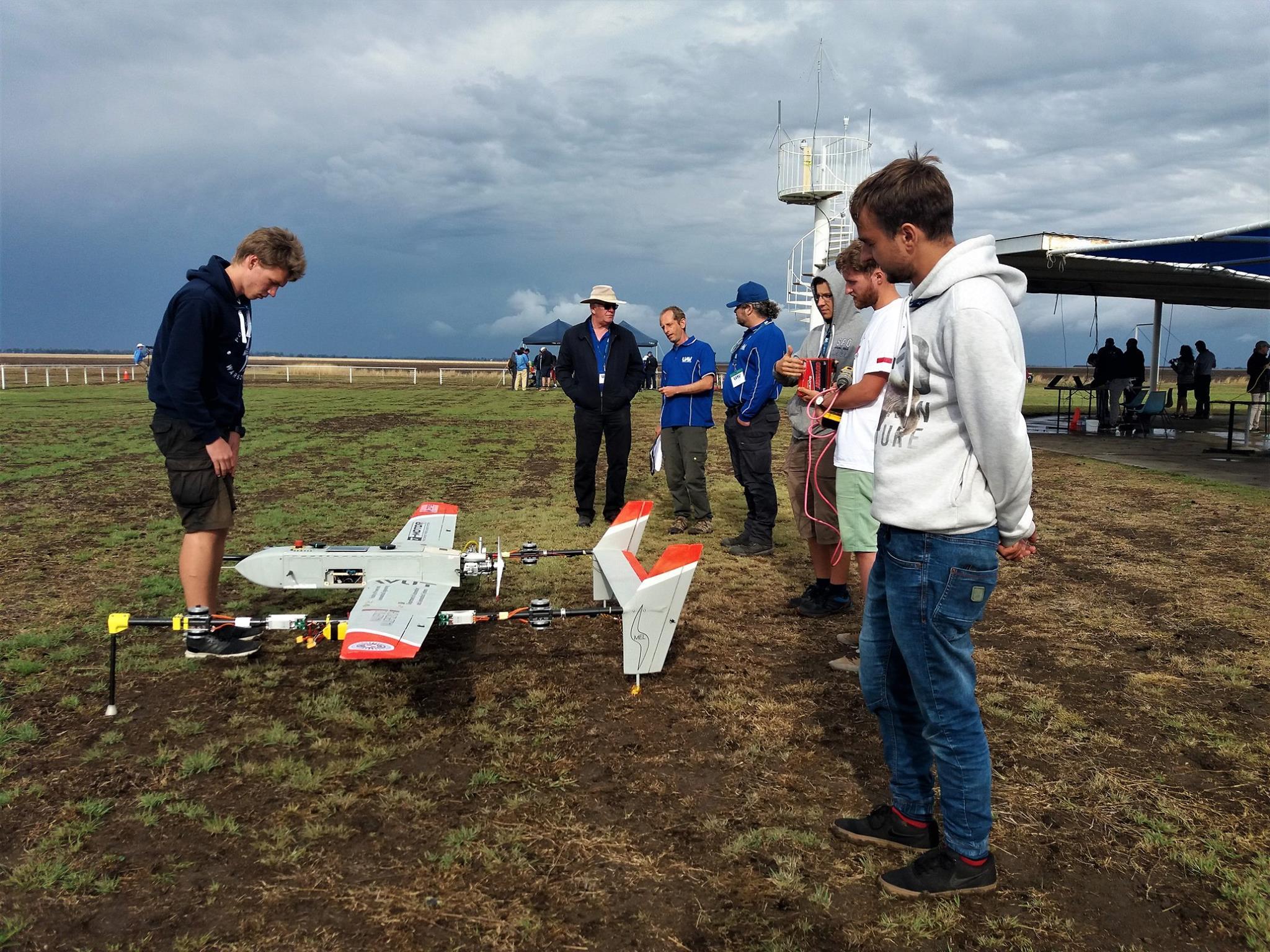 MelAvio na UAV Challenge 2018