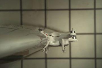 University of Dayton - testy uderzenia drona DJI Phantom 2 w skrzydło samolotu Mooney M20