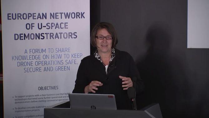 Violeta Bulc - przemówienie podczas inauguracji europejskiej sieci demonstratorów U-Space