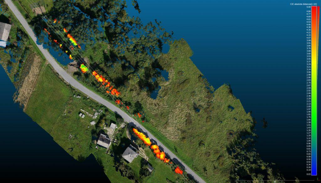 FlyTech UAV: bezzałogowiec BIRDIE - inwentaryzacja sieci energetycznych