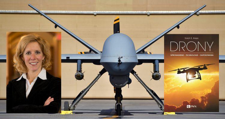 """Drony"" Sarah E. Kreps - Wydawnictwo PWN - 2019"