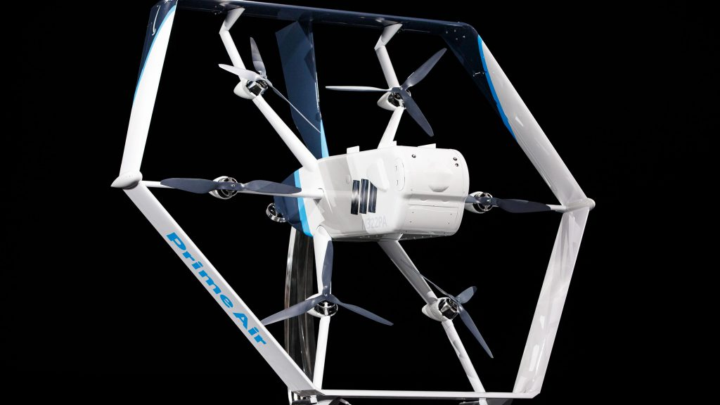 Dron Amazon Prime Air 2019