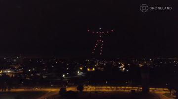 Drone Show - DroneLand.pl - Muzeum Śląskie - pokaz dronów