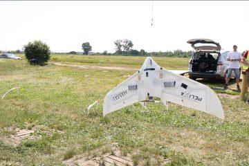 Dron Ikar - projekt 3-SAT - lot stratosferyczny