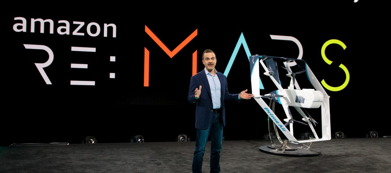 Amazon re:MARS - Prime Air Drone
