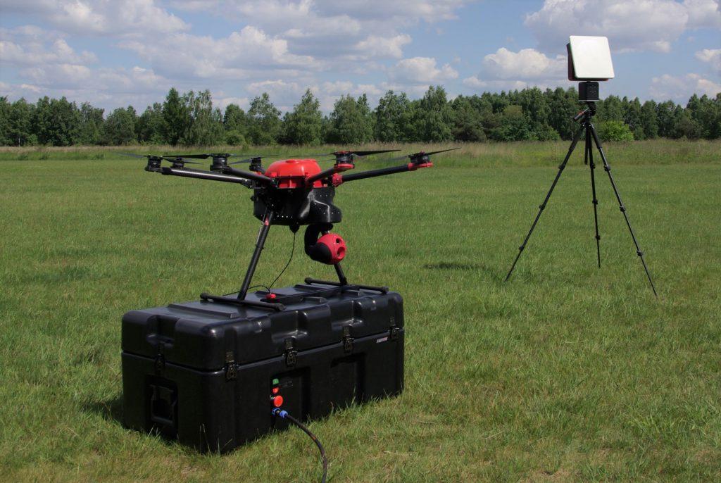 CableGuard - FLYFOCUS - polski dron na uwięzi zasilany z ziemi