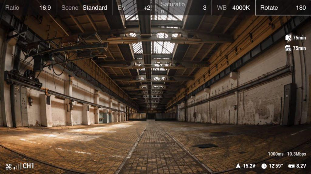 DJI Digital FPV System - Camera OSD