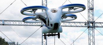 Japoński latający samochód - pasażerski dron - Cartivator NEC