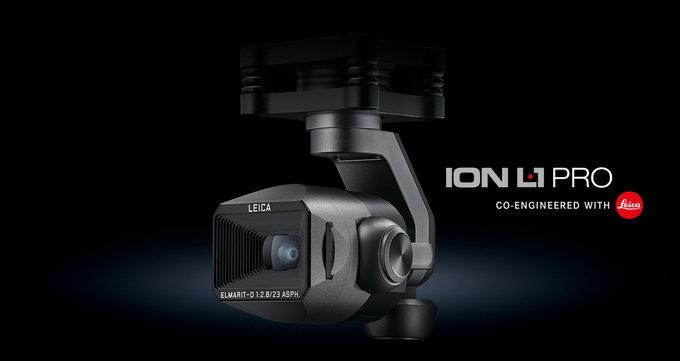 Kamera Leica ION L1 Pro w nowym Yuneec Typhoon H3