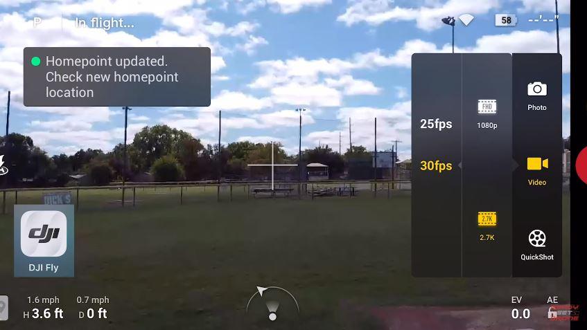 DJI Fly - aplikacja dla DJI Mavic Mini