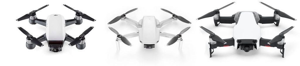 DJI Spark VS DJI Mavic Mini VS DJI Mavic Air