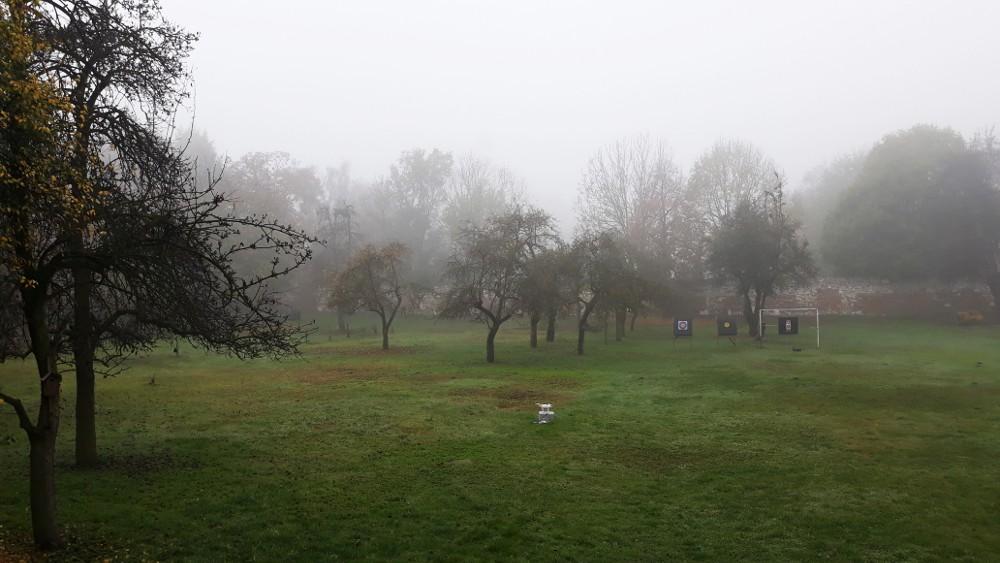 Lot dronem we mgle - SwiatDronow.pl