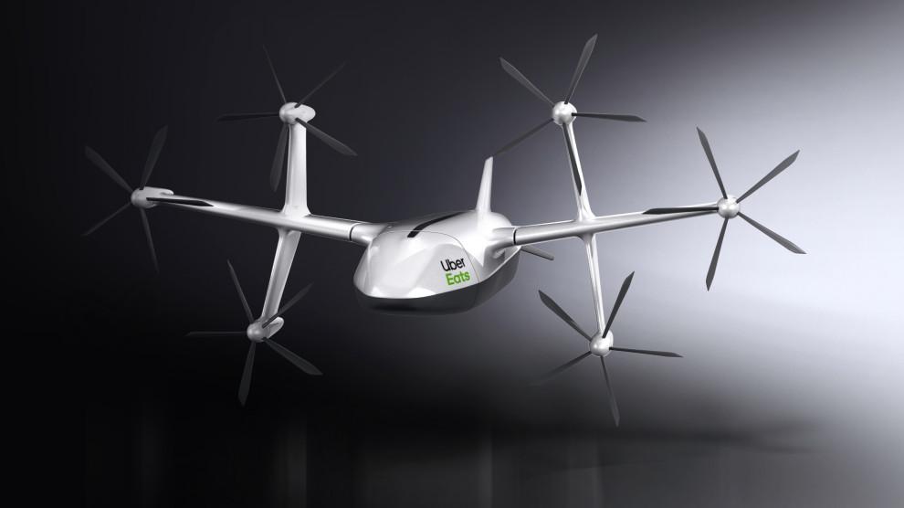 Nowy dron Uber Eats