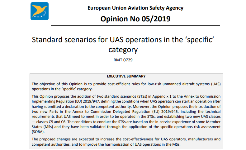 Opinia 05-2019 - EASA