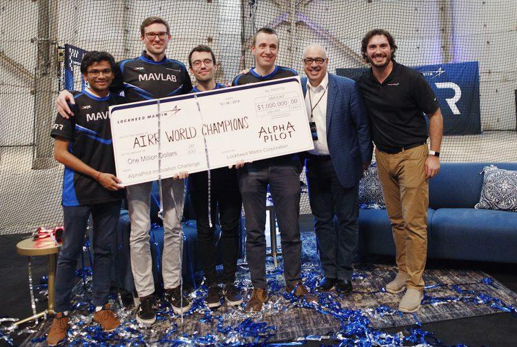 AIRR Championship, winners - Team MAVLab