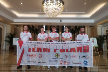 Polska reprezentacja na FAI WDRC 2019