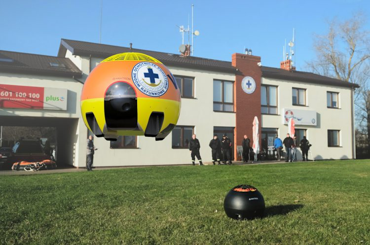 Haxtron PrObe - dron dla WOPR