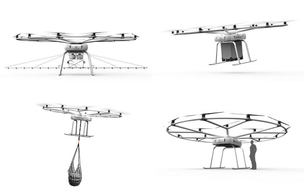 VoloDrone - John Deere - Volocopter