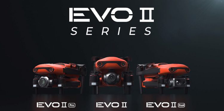 Autel Robotics EVO 2 - 3 różne modele nowej serii