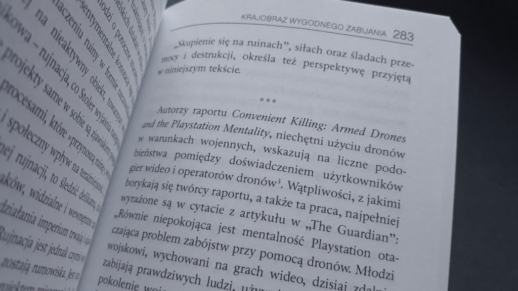Czego pragną DRONY? - fragment książki