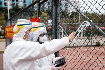 Drony DJI walczą z koronawirusem